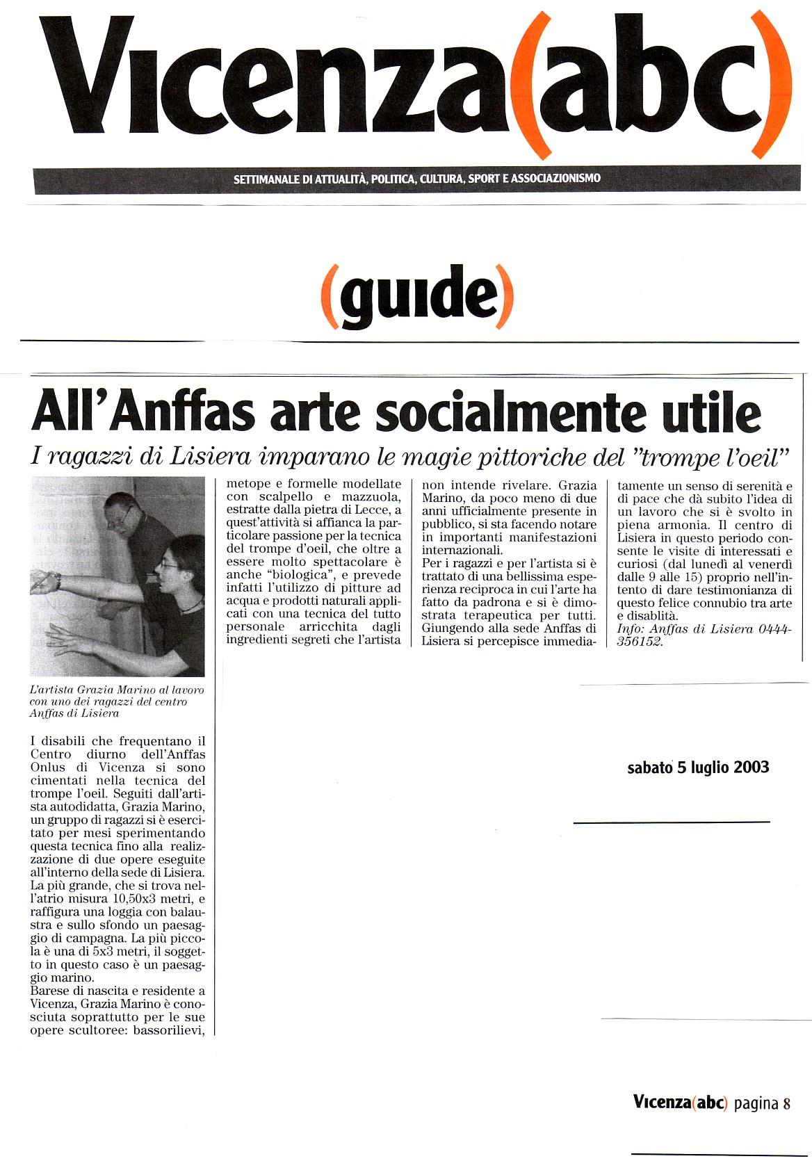 Vicenza abc-lug.'03