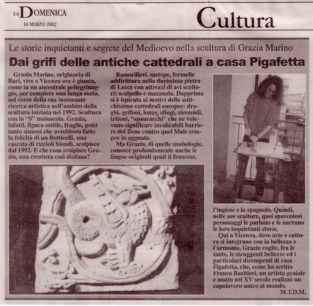 001- La Domenica di Vicenza '02 M.Teresa Dirani Mistrorigo